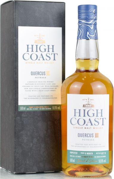 High Coast Quercus III Petraea 50,8% vol.