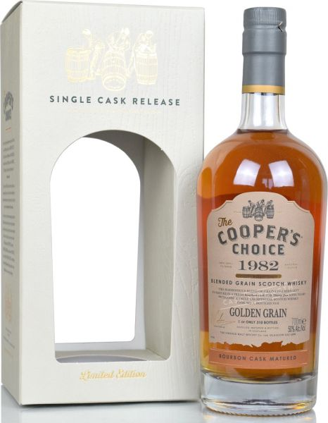 Golden Grain 35 Jahre 1982/2018 Cooper's Choice 50,0 % vol.
