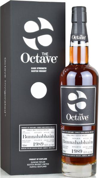 Bunnahabhain 30 Jahre 1989/2019 Duncan Taylor Sherry Premium Octave Cask #3826299 50,8% vol.
