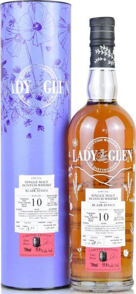 Blair Athol 10 Jahre 2010/2020 1st Fill PX Sherry Lady of the Glen 55,8% vol.