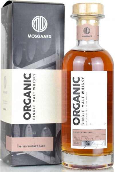 Mosgaard Organic Batch #1 PX Sherry Cask 46,3% vol.