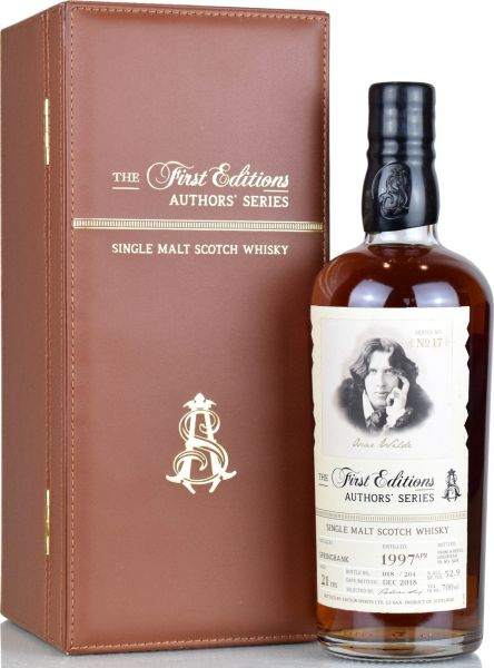 Springbank 21 Jahre 1997/2018 Authors' Series #17 Oscar Wilde 52,9% vol.