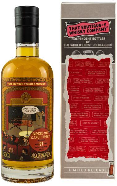 Westport 21 Jahre Batch #1 That Boutique-y Whisky Company 49,7% vol.