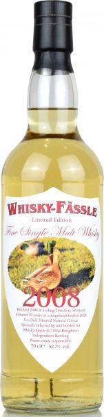 Ledaig 10 Jahre 2008/2018 Whisky-Fässle Duck-Label 52,7% vol.