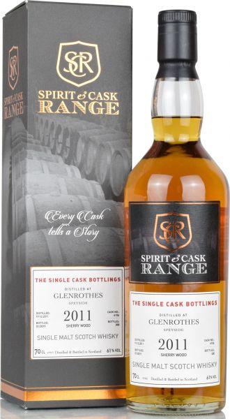 Glenrothes 2011/2019 Sherry Wood Spirit & Cask Range 61% vol.