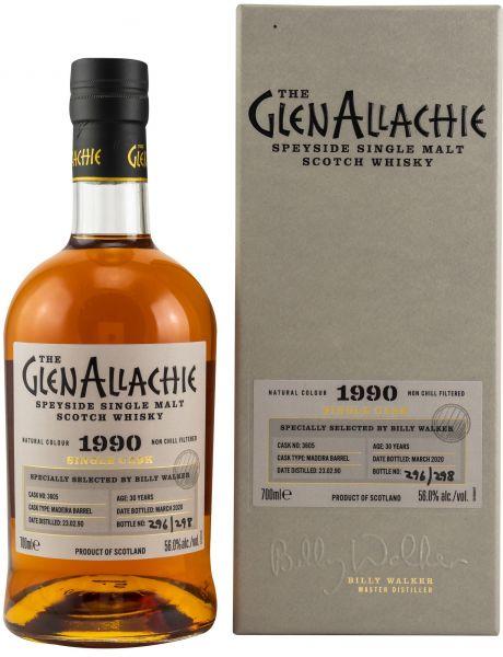 Glenallachie 30 Jahre 1990/2020 Madeira Single Cask #3605 56% vol.