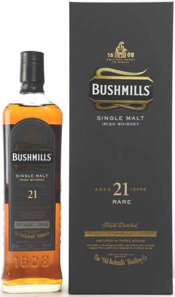 Bushmills 21 Jahre 2014