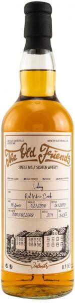 Ledaig 11 Jahre 2008/2019 Red Wine Cask The Old Friends 56,8% vol.