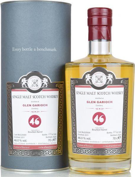 Glen Garioch 9 Jahre 2011/2020 Malts of Scotland 46% vol.