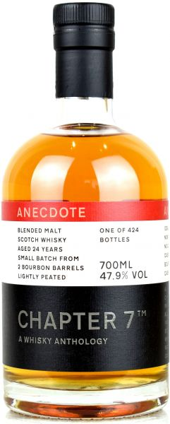 Blended Malt 24 Jahre 1995/2020 Chapter 7 ANECDOTE #1 47,9% vol.