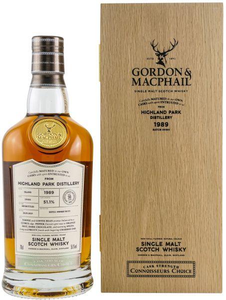 Highland Park 30 Jahre 1989/2019 Gordon & MacPhail 51,1% vol.