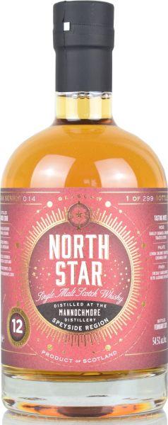 Mannochmore 12 Jahre 2008/2021 North Star Spirits #014 54,5% vol.