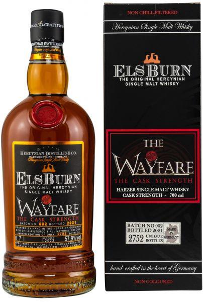 Elsburn The Wayfare 2021 Batch 002 Cask Strength 57,9% vol.