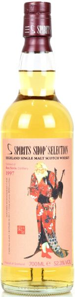 Ben Nevis 20 Jahre 1997/2017 S-Spirits Shop Selection 52,3% vol.