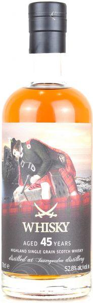 Invergordon 45 Jahre 1973/2019 Sansibar Whisky The Clans Label 52,8% vol.