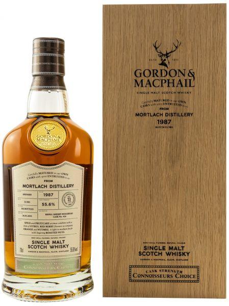 Mortlach 33 Jahre 1987/2021 Sherry Cask Gordon & MacPhail 55,6% vol.