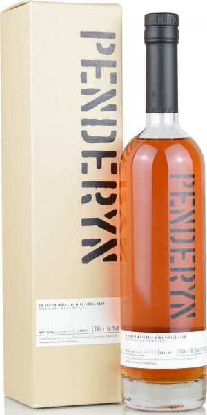Penderyn 2015/2020 Purple Moscatel Single Cask 59,8% vol.