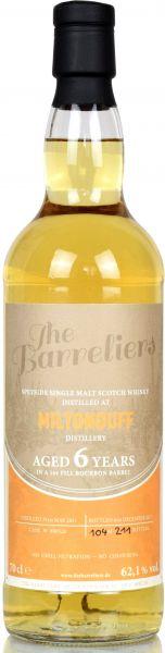 Miltonduff 6 Jahre 2011/2017 The Barreliers 62,1% vol.