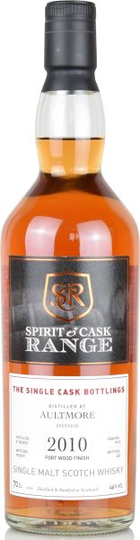 Aultmore 2010/2019 Port Wood Spirit & Cask Range 46% vol.