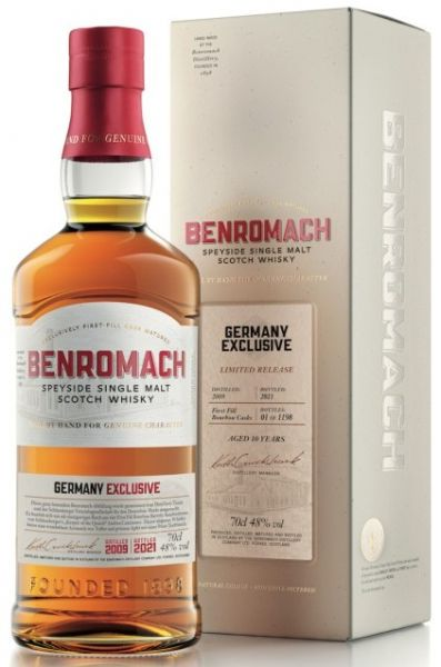 Benromach 2009/2021 Germany Exclusive Batch 48%vol