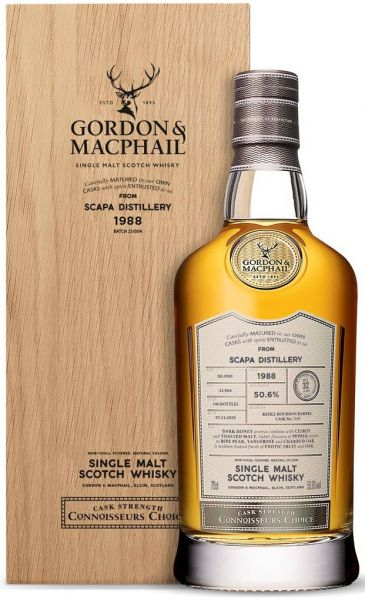 Scapa 32 Jahre 1988/2020 Gordon & MacPhail 50,6% vol.