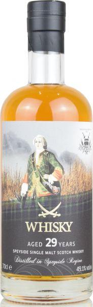 Secret Speyside 29 Jahre 1991/2020 Sansibar Whisky for deinwhisky.de 49,1% vol.