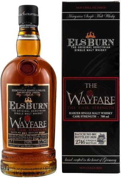 Elsburn The Wayfare 2020 Batch 001 Cask Strength 57,7% vol.