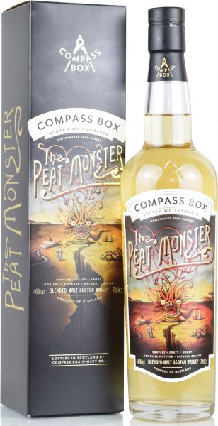The Peat Monster Compass Box 46% vol.