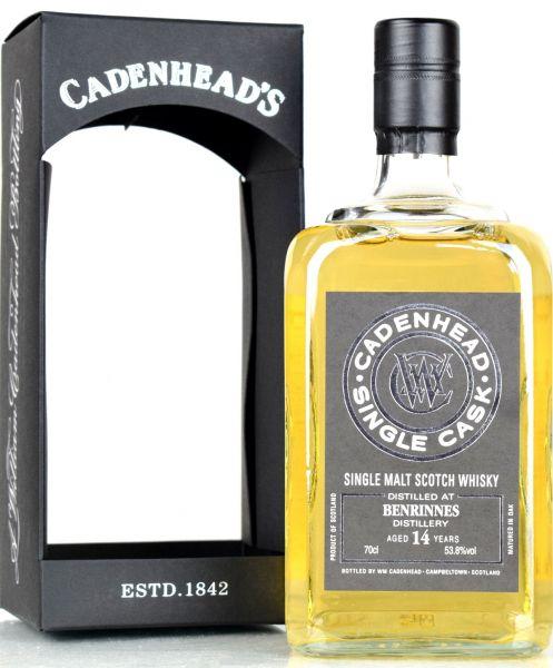 Benrinnes 14 Jahre 2004/2018 Cadenhead's for France 53,8% vol.