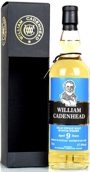 William Cadenhead 9 Jahre Islay Single Malt (Kildalton) 57,6% vol.