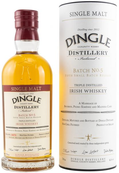 Dingle Irish Single Malt Whiskey Batch #5 46,5% vol.