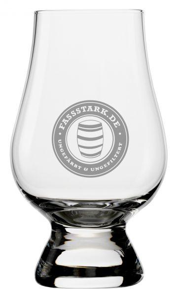 Glencairn Glas mit fassstark.de-Logo