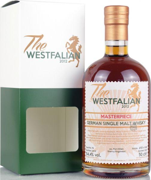 The Westfalian Masterpiece peated 2013/2021 Ex-Port Ellen Sherry Cask #76 54,4% vol.