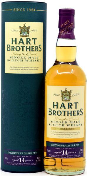 Miltonduff 14 Jahre 2007/2021 Marsala Cask Hart Brothers 49,5% vol.