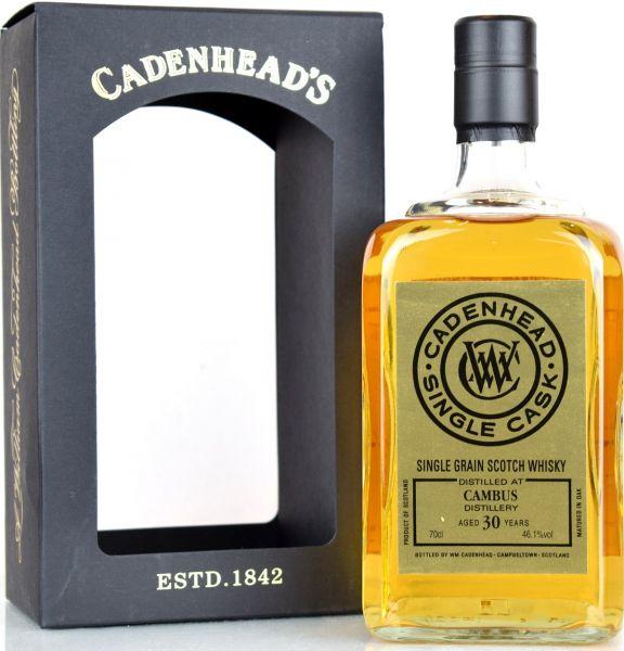 Cambus 30 Jahre 1988/2019 Cadenheads 46,1% vol.