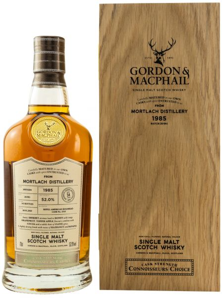 Mortlach 34 Jahre 1985/2020 Gordon & MacPhail 52% vol.