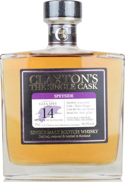 Glen Spey 14 Jahre 2006/2020 Madeira Cask Claxton's 58,2% vol.