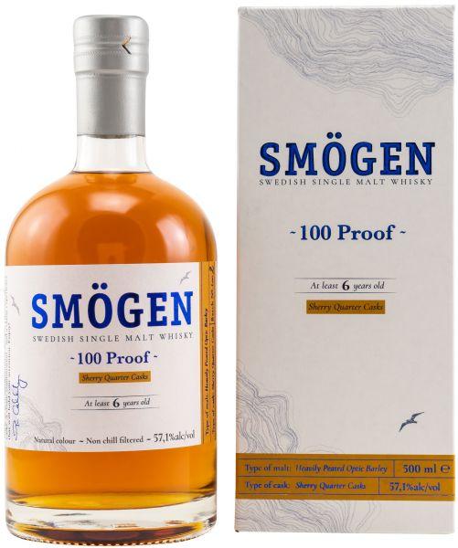 Smögen 100 Proof Batch #2 Swedish Single Malt Whisky 57,1% vol.