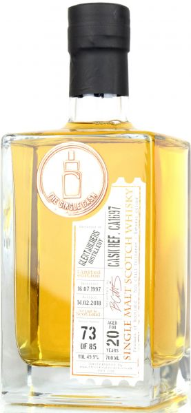 Glentauchers 20 Jahre 1997/2018 The Single Cask #CA1697 49,9% vol.