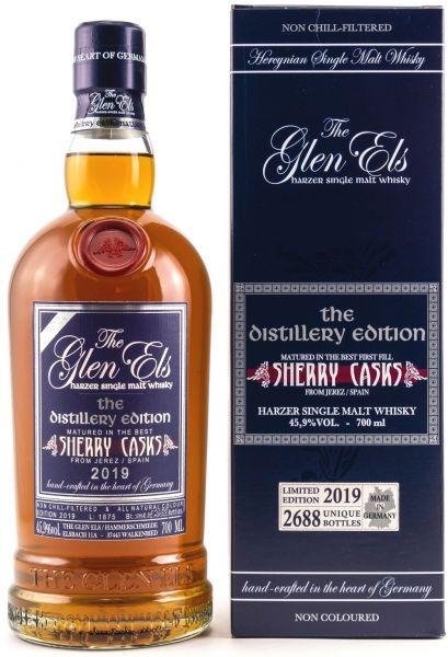 Glen Els The Distillery Edition 2019 Sherry Cask 45,9% vol.