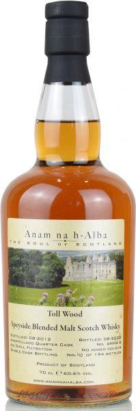 Toll Wood 2012/2020 Amontillado Cask Anam na h-Alba 60,6% vol.
