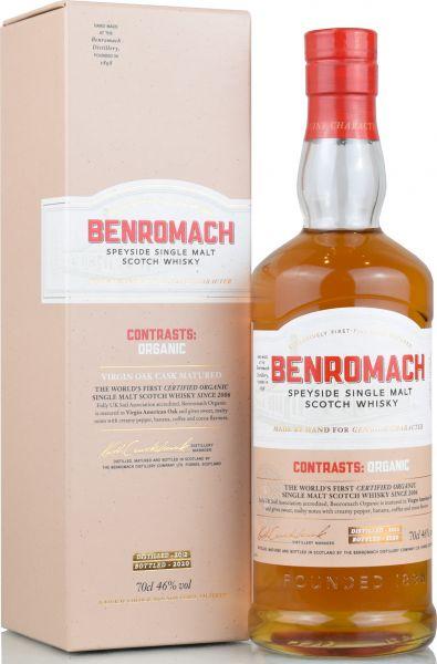 Benromach 2012/2020 Contrasts:Organic 46% vol.