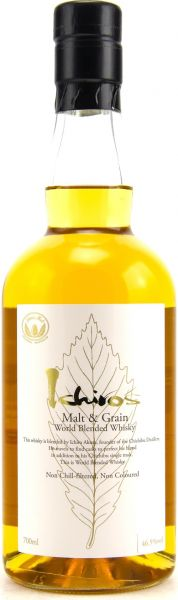 Chichibu Ichiros Malt & Grain World Blended Whisky 46,5% vol.
