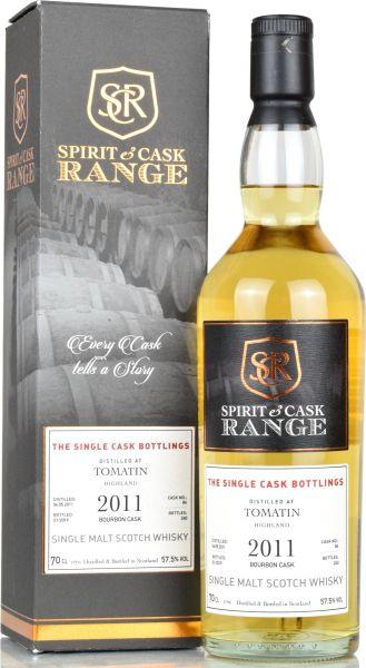 Tomatin 2011/2019 Spirit & Cask Range 57,5% vol.