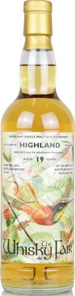 Highland Malt 19 Jahre 2000/2020 The Whisky Fair 55,6% vol.