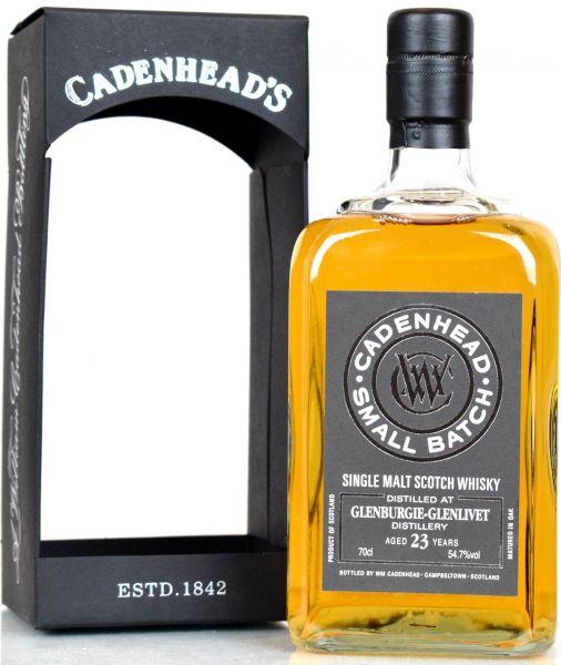 Glenburgie 23 Jahre 1992/2015 Cadenhead 54,7% vol.
