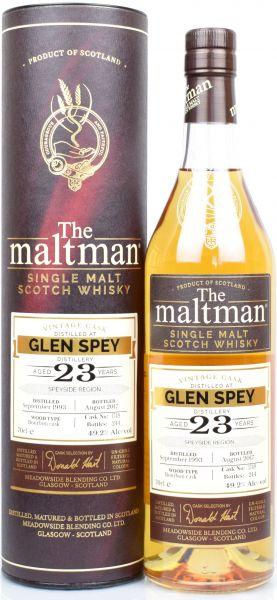 Glen Spey 23 Jahre 1993/2017 The Maltman #1749