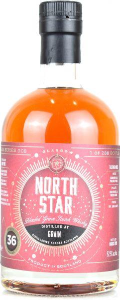 Blended Grain 36 Jahre 1982/2019 North Star Spirits #008 52,5% vol.