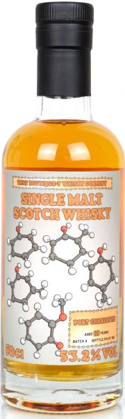 Port Charlotte 13 Jahre Batch #4 That Boutique-y Whisky Company 53,2% vol.