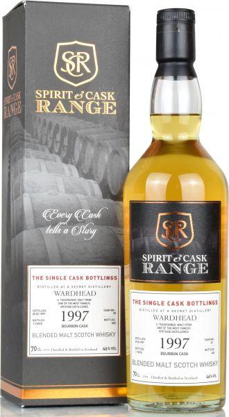 Wardhead 1997/2018 Spirit & Cask Range 46% vol.